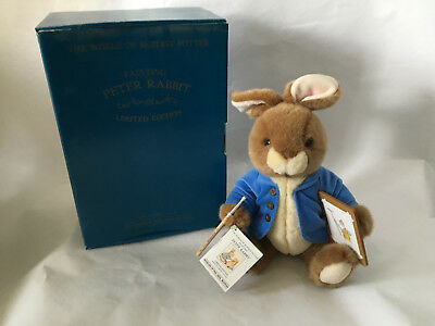The World of Beatrix Potter Painting Peter Rabbit limited edition