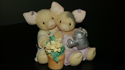 TLP This Little Piggy 1995 Our Love is Growing Spring Daffodils Love
