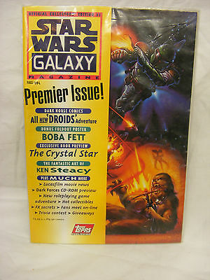 Star Wars - Galaxy Magazine  - Premier Issue with Ash Can (#1 Fall 1994)