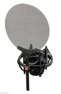 New sE Electronics Isolation Pack Shock Mount and Pop Filter sE Microphone Mic