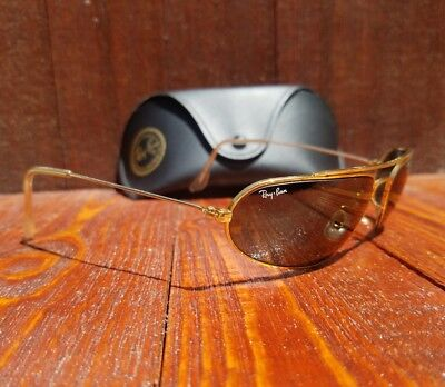 Vintage Ray Ban Bausch And Lomb Oval  W1958 Fugitives Sunglasses PARTS OR REPAIR