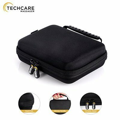 TechCare Hard Travel Case for Tens Unit Massagers Protective Shockproof