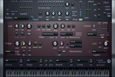 New Image Line IL Harmless Additive Subtractive Synth Synthesizer Plugin Windows