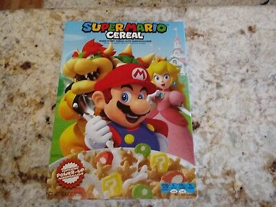 SUPER MARIO ODYSSEY CEREAL Brand New In Hand HTF Limited Edition