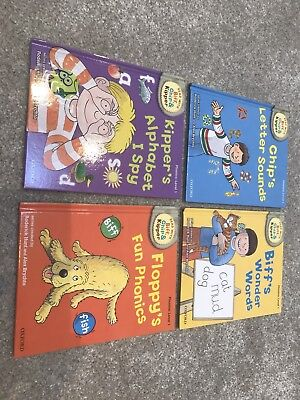 Biff, Chip and Kipper read with me phonics books level 1