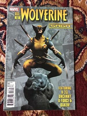 ALL-NEW WOLVERINE SAGA # 1 (MARVEL ONE-SHOT, Featuring X23, OCT 2010),