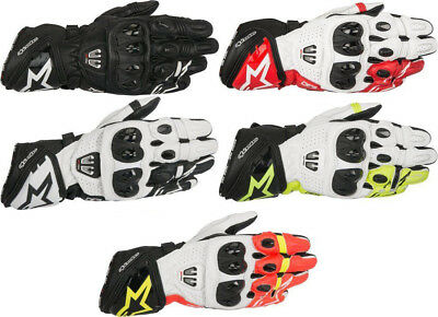 Alpinestars Mens GP Pro R2 Leather Motorcycle Riding Gloves - Pick Size / Color
