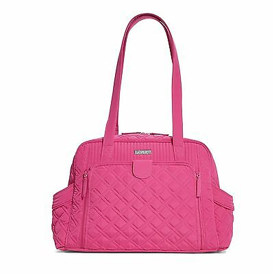 Vera Bradley Make A Change Baby Bag In Fuchsia Nwt