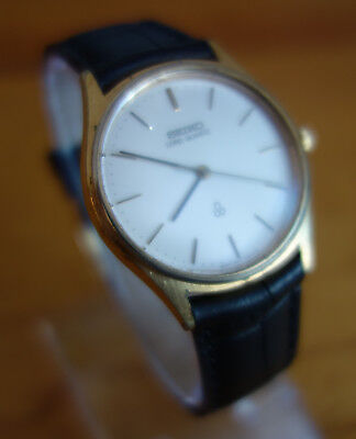 Seiko Vintage Lord Quartz 8241-7000 Silber Gold September 1979 Made in Japan JDM