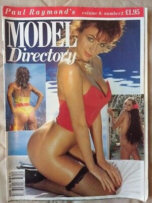 Paul Raymond's Model Directory, volume 6 no. 2, vintage/collectable.