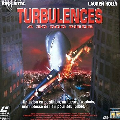 TURBULENCES A 30.000 PIEDS WS VF PAL LASERDISC Ray Liotta, Lauren Holly