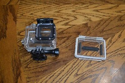 GoPro Hero 3 series underwater case with vented back.