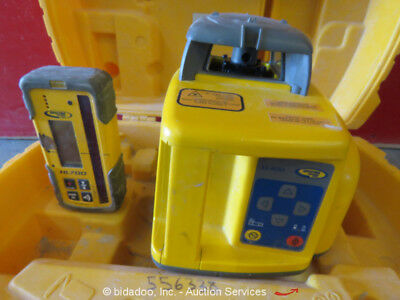 2012 Trimble LL400 Precision Indoor/Outdoor Laser Level Self-Leveling w/Case