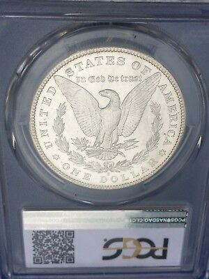 1880-S Proof-Like Morgan Silver Dollar: PCGS MS63  **Flashy White Coin**