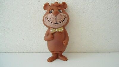 Vintage Squeeze Vinyl Doll Hanna Barbera Yogi Bear BOO BOO Bucky made in Mexico