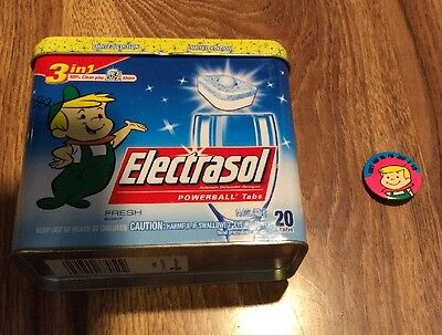 Used Elroy Jetson 2007 Electrasol Limited Edition Tin and Elroy Pin Don't Ask Me