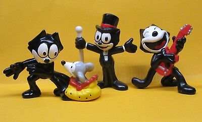 FELIX THE CAT PVC FIGURES - VINTAGE 1989 APPLAUSE Mouse Guitar
