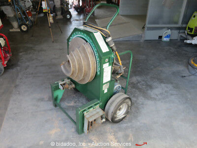 "2007 Greenlee 555 Electric Conduit Bender 1/2""-2"" Portable Pipe Bending Machine"