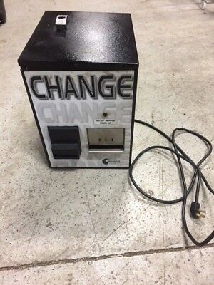 Standard Change Makers Mcm-100 Dollar Bill Changer Used