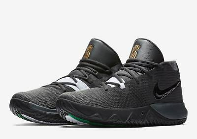 8d6fc639de8d Men s Nike Kyrie Irving Flytrap Basketball Shoes Black Gold NIB AA7071-008