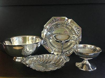 5 Lovely Small Silver Plated Items