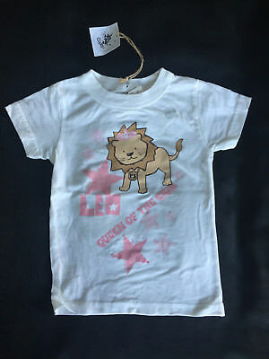 Rich Soil Baby LEO Zodiac Sign 100% ORGANIC COTTON - 18 Months - MADE IN USA