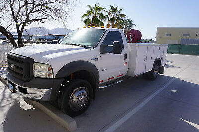 2005 Ford F450 service truck