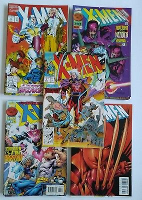 X-Men Lot Of 20 Comic Books (1991, Marvel) F/vf