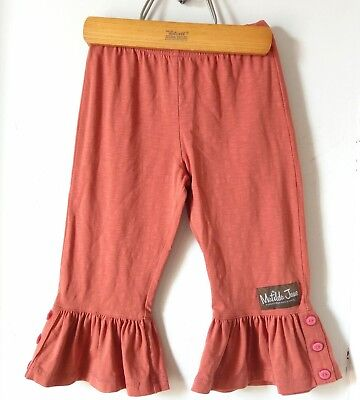 MATILDA JANE Character Counts Aries Big Ruffle Cuff Pumpkin Orange Pants 2