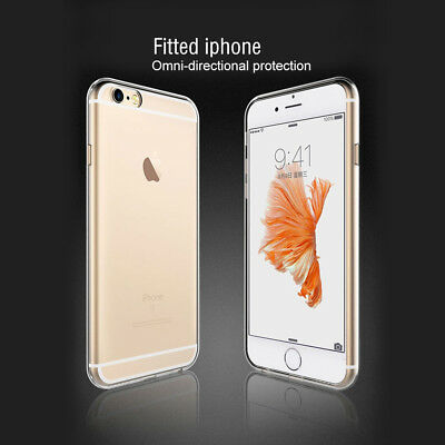 Hot Sale For iPhone 6s Plus Clear Case Silicone TPU Ultra Thin Protective Cover