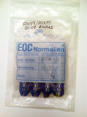 Strack Normalien FW19/20x80 Guide Bushings, LOT OF 4! – NOS