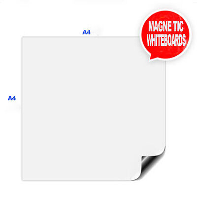 A4 Magnetic Reminder Fridge Whiteboard Home Office Message Memo Board+3FreePens