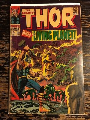 Mighty Thor #133 1St Full Ego The Living Planet Hela Jack Kirby (Marvel 1966)