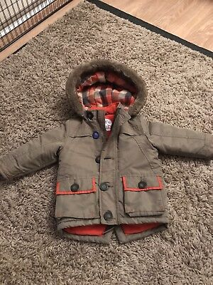 Mini Club Baby Boys Coat Green 9-12 months used