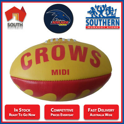 AFL Football Balls Adelaide Crows Regent MIDI Aussie Rules NEW IN PACKAGING