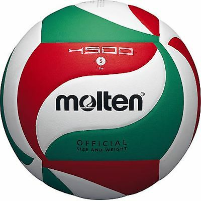 Molten Volleyball Ball Size 5 V5M4500 Soft Touch PU Leather Indoor Outdoor Game