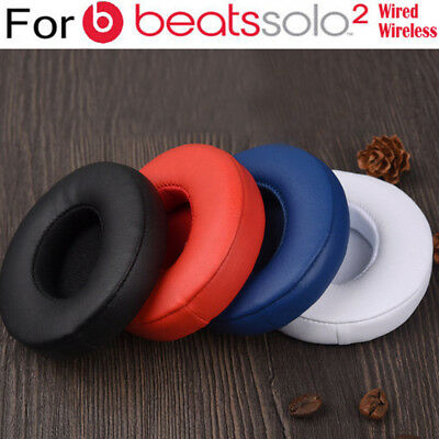 Replacement Ear Pads Cushion For Beats by Dr Dre Solo Solo 2.0 Wired Earphone UK