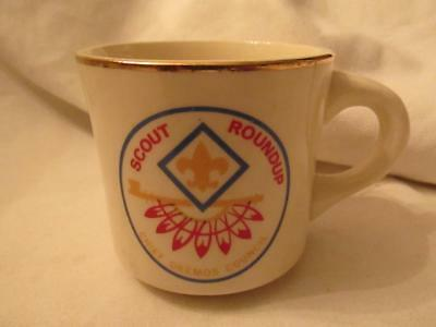Old Boy Scouts of America Coffee Mug - Chief Okemos Council Scout Roundup