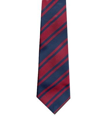 Corps of Royal Engineers Polyester Tie - RE TIE - ROYAL ENGINEER TIE