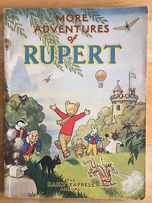 RUPERT ORIGINAL ANNUAL 1947 Inscribed Not price clipped VG PLUS