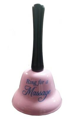 Ring For Massage Bell Funny Joke Novelty Birthday Gifts Him Or Her