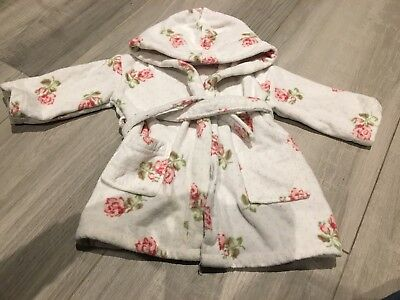 little white company dressing gown 12-18m Girl Pretty