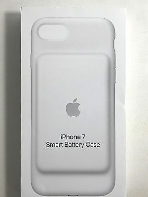 Genuine Original Apple Smart Battery Case Cover for iPhone 7 White Color