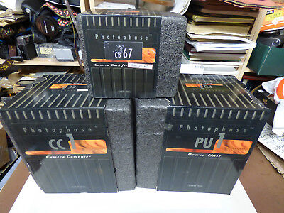 Phase One vintage digital film back CB67 for  MAMIYA RZ67