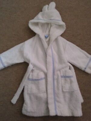 John Lewis baby dressing gown 6-12 Months
