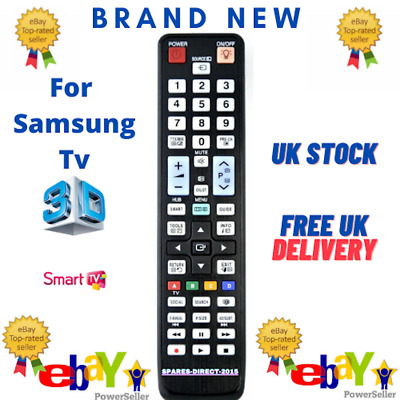 New Universal Replacement Remote control for Samsung TV`S ** UK STOCK ** 1ST DEL