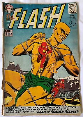 THE FLASH COMIC #120 - Silver age - May 1961