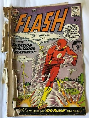 THE FLASH COMIC #111 - Silver age - Feb/Mar 1960