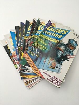 The Games Machine computer magazine collection: first 9 issues, 1987-88
