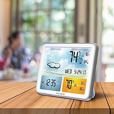 Acurite Wireless Professional Weather Station 5 in1 with Color Monitor Phone App
